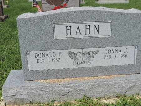 HAHN, DONNA J - Ross County, Ohio | DONNA J HAHN - Ohio Gravestone Photos