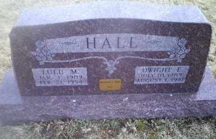 HALL, LULU M. - Ross County, Ohio   LULU M. HALL - Ohio Gravestone Photos