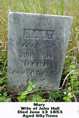 HALL, MARY - Ross County, Ohio | MARY HALL - Ohio Gravestone Photos