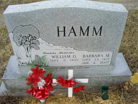 HAMM, BARBARA M. - Ross County, Ohio | BARBARA M. HAMM - Ohio Gravestone Photos