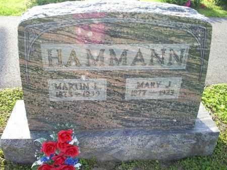 HAMMAN, MARY J. - Ross County, Ohio   MARY J. HAMMAN - Ohio Gravestone Photos