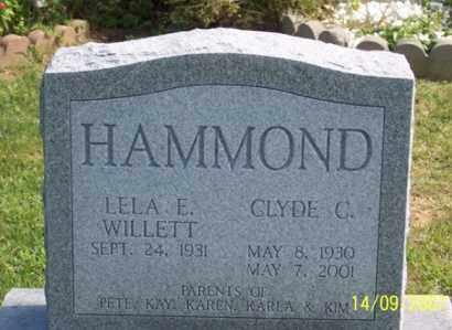 HAMMOND, CLYDE C. - Ross County, Ohio | CLYDE C. HAMMOND - Ohio Gravestone Photos