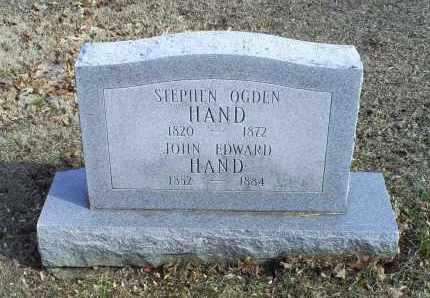 HAND, STEPHEN OGDEN - Ross County, Ohio | STEPHEN OGDEN HAND - Ohio Gravestone Photos