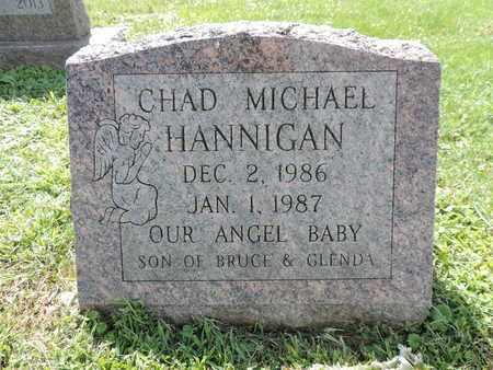 HANNIGAN, CHAD MICHAEL - Ross County, Ohio | CHAD MICHAEL HANNIGAN - Ohio Gravestone Photos