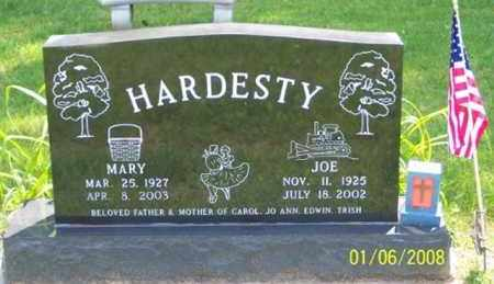 HARDESTY, MARY - Ross County, Ohio | MARY HARDESTY - Ohio Gravestone Photos