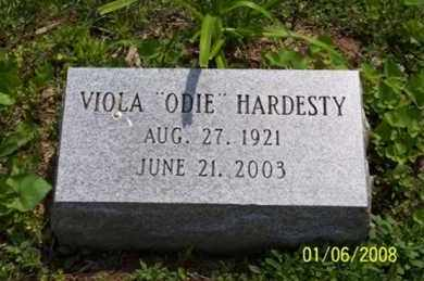 "HARDESTY, VIOLA ""ODIE"" - Ross County, Ohio 
