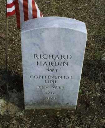 HARDIN, RICHARD - Ross County, Ohio | RICHARD HARDIN - Ohio Gravestone Photos