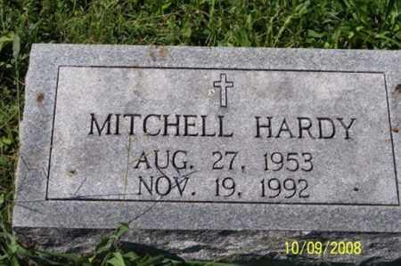 HARDY, MITCHELL - Ross County, Ohio   MITCHELL HARDY - Ohio Gravestone Photos