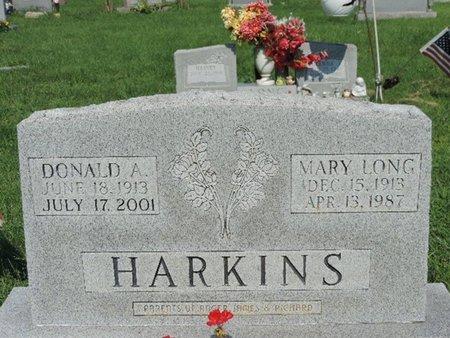 LONG HARKINS, MARY - Ross County, Ohio | MARY LONG HARKINS - Ohio Gravestone Photos