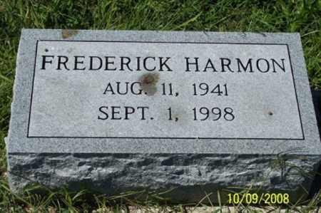 HARMON, FREDERICK - Ross County, Ohio   FREDERICK HARMON - Ohio Gravestone Photos