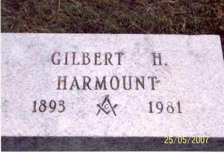 HARMOUNT, GILBERT H. - Ross County, Ohio   GILBERT H. HARMOUNT - Ohio Gravestone Photos