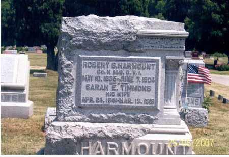 HARMOUNT, SARAH E. - Ross County, Ohio | SARAH E. HARMOUNT - Ohio Gravestone Photos