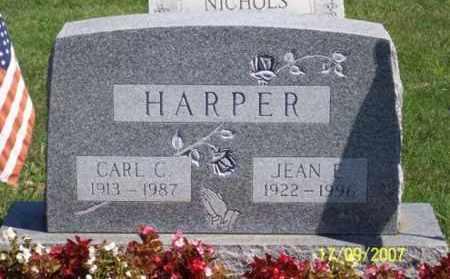 HARPER, JEAN E. - Ross County, Ohio | JEAN E. HARPER - Ohio Gravestone Photos