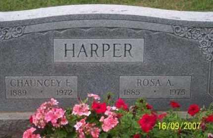 HARPER, CHAUNCEY E. - Ross County, Ohio   CHAUNCEY E. HARPER - Ohio Gravestone Photos