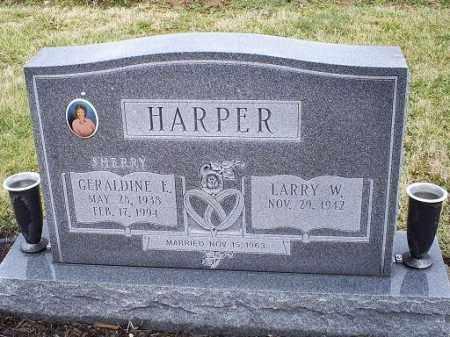 HARPER, GERALDINE E. - Ross County, Ohio | GERALDINE E. HARPER - Ohio Gravestone Photos