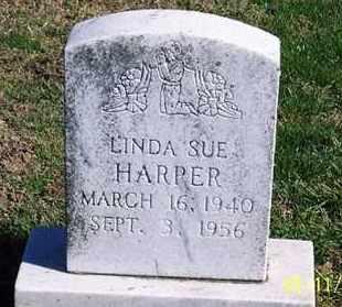 HARPER, LINDA SUE - Ross County, Ohio | LINDA SUE HARPER - Ohio Gravestone Photos