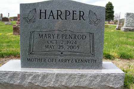 HARPER, MARY - Ross County, Ohio | MARY HARPER - Ohio Gravestone Photos