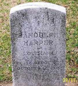 HARPER, RANDOLPH - Ross County, Ohio | RANDOLPH HARPER - Ohio Gravestone Photos