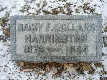 HARRINGTON, DAISY F. - Ross County, Ohio   DAISY F. HARRINGTON - Ohio Gravestone Photos