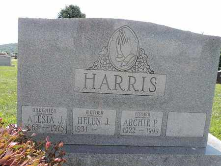 HARRIS, ALESIA J - Ross County, Ohio | ALESIA J HARRIS - Ohio Gravestone Photos