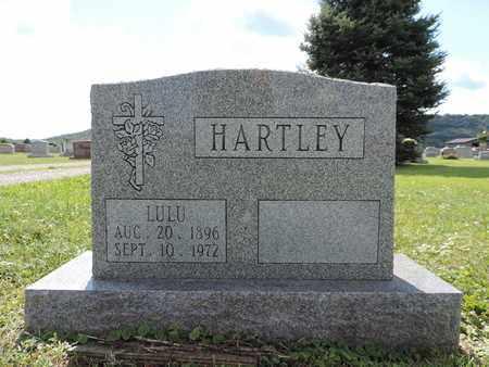 HARTLEY, LULU - Ross County, Ohio   LULU HARTLEY - Ohio Gravestone Photos