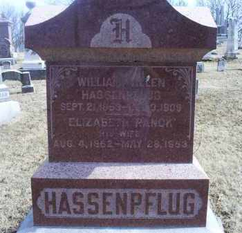 RANCK HASSENPFLUG, ELIZABETH - Ross County, Ohio | ELIZABETH RANCK HASSENPFLUG - Ohio Gravestone Photos