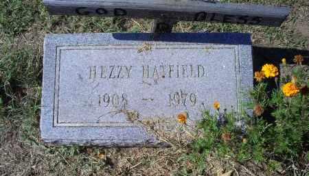 HATFIELD, HEZZY - Ross County, Ohio | HEZZY HATFIELD - Ohio Gravestone Photos