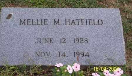 HATFIELD, MELLIE M. - Ross County, Ohio | MELLIE M. HATFIELD - Ohio Gravestone Photos