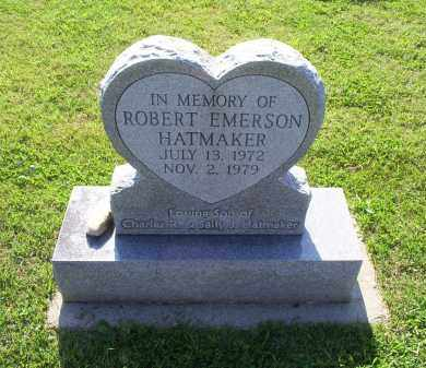 HATMAKER, ROBERT EMERSON - Ross County, Ohio | ROBERT EMERSON HATMAKER - Ohio Gravestone Photos