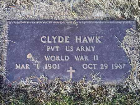 HAWK, CLYDE - Ross County, Ohio | CLYDE HAWK - Ohio Gravestone Photos
