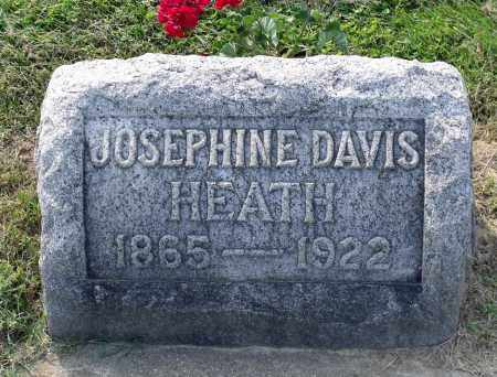 DAVIS HEATH, JOSEPHINE L. - Ross County, Ohio | JOSEPHINE L. DAVIS HEATH - Ohio Gravestone Photos