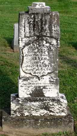 HEATH, JULIA ANN - Ross County, Ohio | JULIA ANN HEATH - Ohio Gravestone Photos