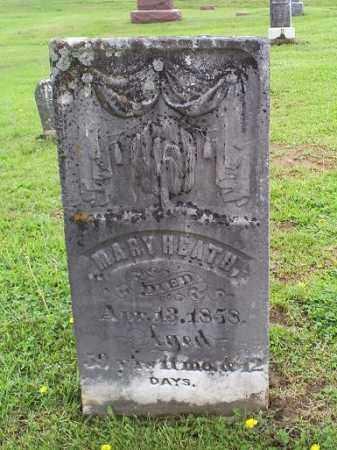 HEATH, MARY - Ross County, Ohio | MARY HEATH - Ohio Gravestone Photos