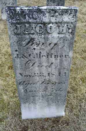 HEFFNER, JACOB - Ross County, Ohio | JACOB HEFFNER - Ohio Gravestone Photos