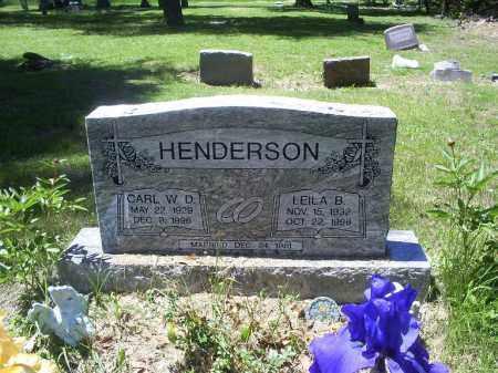 HENDERSON, LEILA B. - Ross County, Ohio   LEILA B. HENDERSON - Ohio Gravestone Photos
