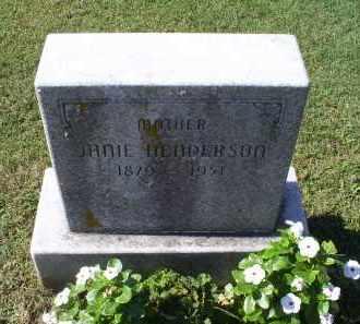 HENDERSON, JANIE - Ross County, Ohio   JANIE HENDERSON - Ohio Gravestone Photos