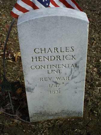 HENDRICK, CHARLES - Ross County, Ohio | CHARLES HENDRICK - Ohio Gravestone Photos