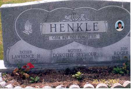 HENKLE, ROGER - Ross County, Ohio | ROGER HENKLE - Ohio Gravestone Photos