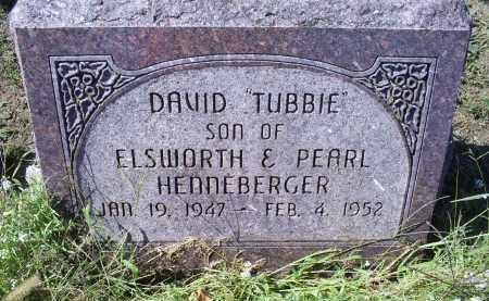 "HENNEBERGER, DAVID ""TUBBIE"" - Ross County, Ohio | DAVID ""TUBBIE"" HENNEBERGER - Ohio Gravestone Photos"