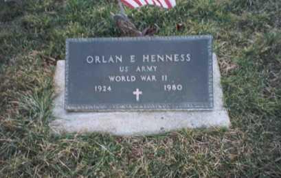 HENNESS, ORLAN - Ross County, Ohio   ORLAN HENNESS - Ohio Gravestone Photos