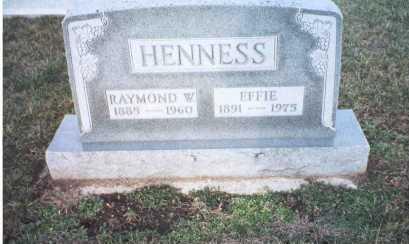 BYERS HENNESS, EFFIE - Ross County, Ohio | EFFIE BYERS HENNESS - Ohio Gravestone Photos