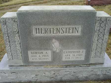 HERTENSTEIN, BURTON A. - Ross County, Ohio   BURTON A. HERTENSTEIN - Ohio Gravestone Photos