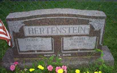 HERTENSTEIN, EUGENE R. - Ross County, Ohio | EUGENE R. HERTENSTEIN - Ohio Gravestone Photos