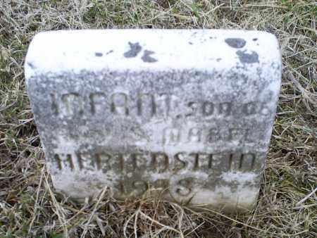 HERTENSTEIN, INFANT - Ross County, Ohio | INFANT HERTENSTEIN - Ohio Gravestone Photos