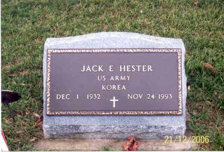 HESTER, JACK E. - Ross County, Ohio | JACK E. HESTER - Ohio Gravestone Photos
