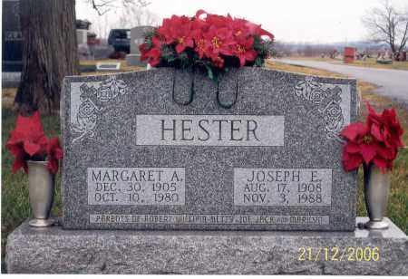 HESTER, JOSEPH E. - Ross County, Ohio | JOSEPH E. HESTER - Ohio Gravestone Photos