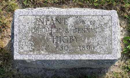 HIBY, INFANT SON - Ross County, Ohio | INFANT SON HIBY - Ohio Gravestone Photos
