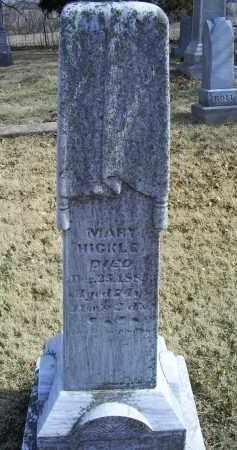HICKLE, MARY - Ross County, Ohio   MARY HICKLE - Ohio Gravestone Photos