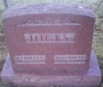 HICKS, J. HARVEY - Ross County, Ohio | J. HARVEY HICKS - Ohio Gravestone Photos