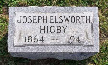 HIGBY, JOSEPH ELSWORTH - Ross County, Ohio   JOSEPH ELSWORTH HIGBY - Ohio Gravestone Photos